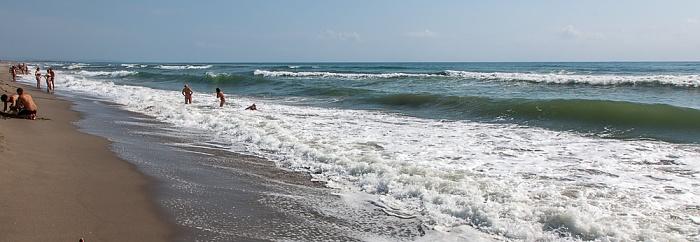 Viareggio Versilia: Spiaggia della Lecciona, Mittelmeer