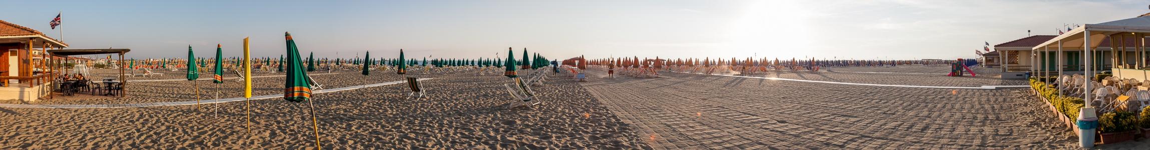 Viareggio Versilia: Strandbäder