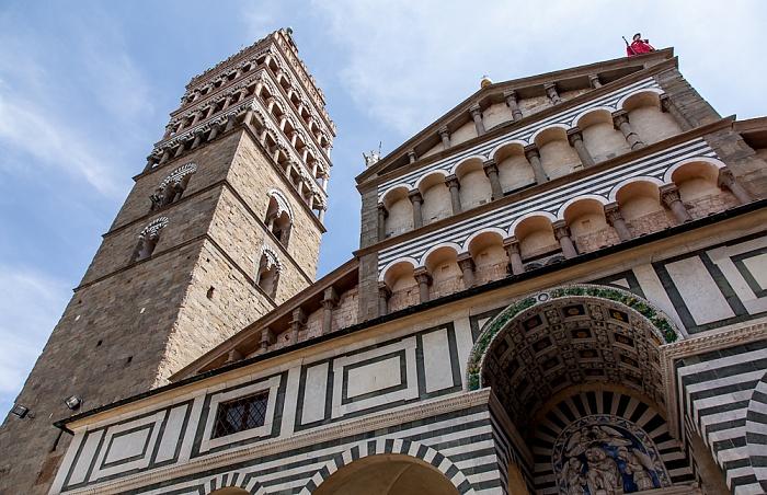 Centro Storico: Campanile del Duomo di Pistoia, Cattedrale di San Zeno