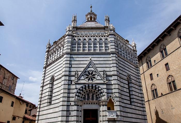 Pistoia Centro Storico: Battistero di San Giovanni in corte