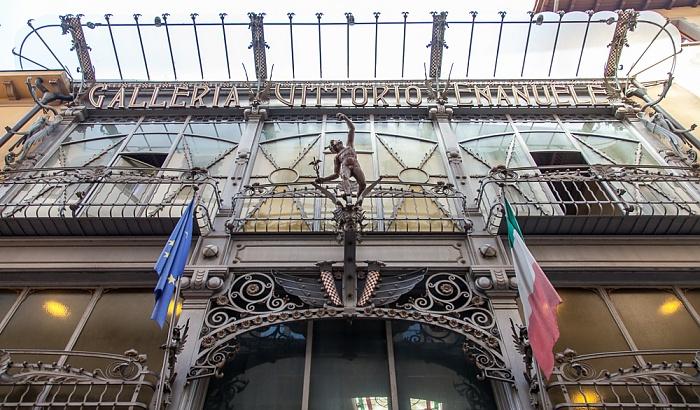 Pistoia Centro Storico: Galleria Vittorio Emanuele (Cinema Eden)