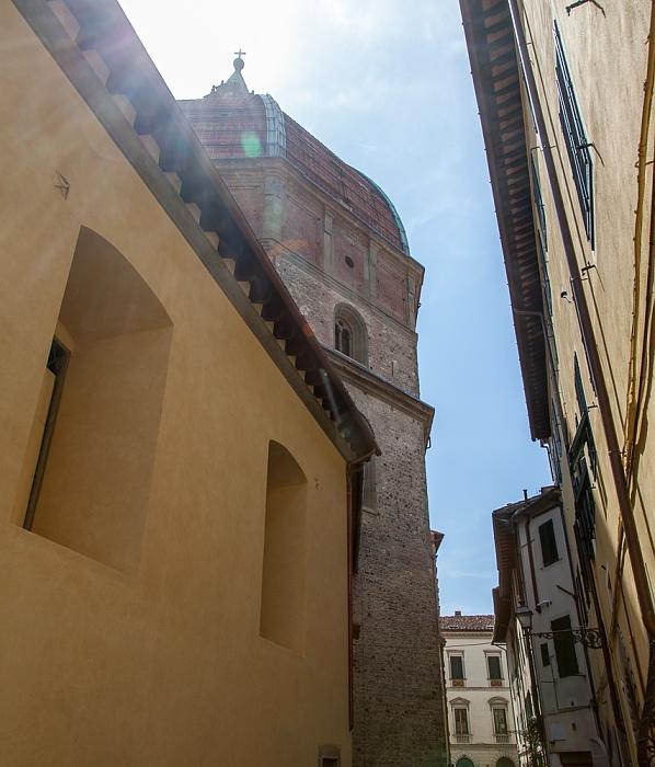 Pistoia Centro Storico: Via Vitoni Ventura - Basilica della Madonna dell'Umiltà