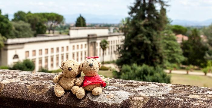 Giardino della Villa Medicea di Poggio a Caiano: Teddy und Teddine