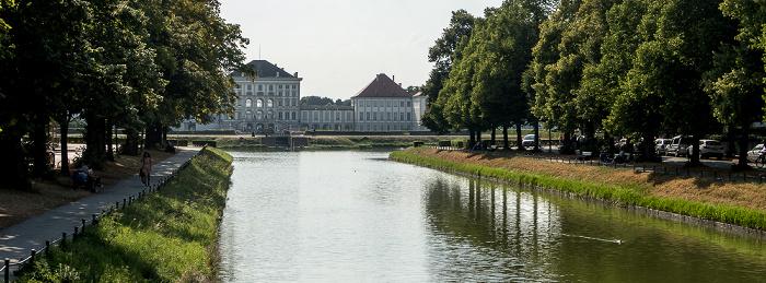 Nymphenburger Kanal, Schloss Nymphenburg München