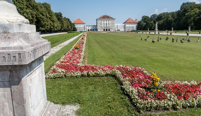 München Schlosspark Nymphenburg (Großes Parterre), Schloss Nymphenburg