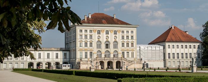 Schlosspark Nymphenburg (Großes Parterre), Schloss Nymphenburg München