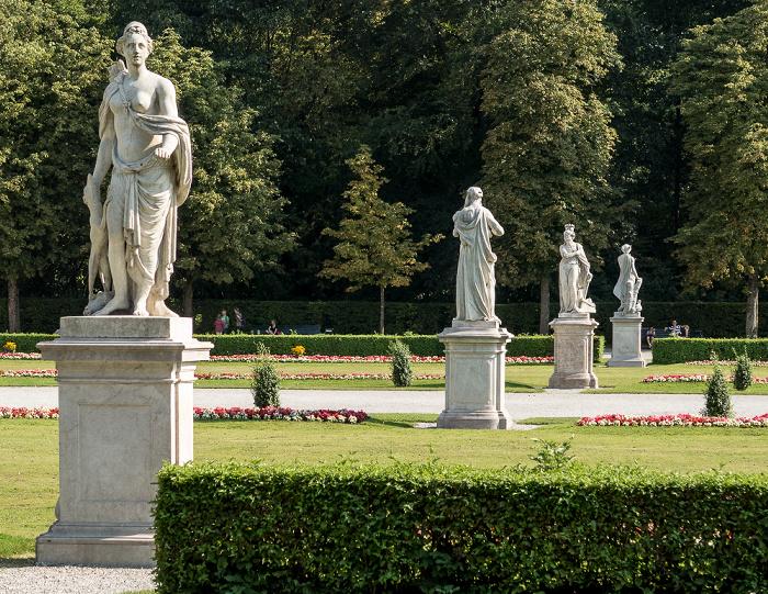 Schlosspark Nymphenburg (Großes Parterre) München