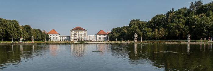 Schlosspark Nymphenburg (Mittelkanal), Schloss Nymphenburg München