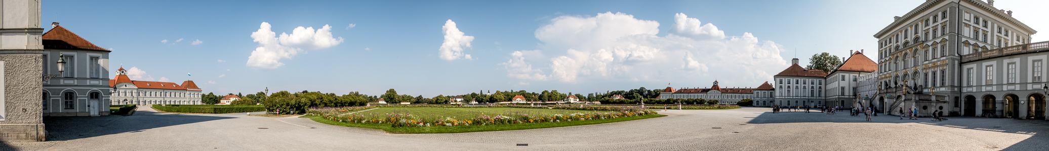 Schloss Nymphenburg: Schlossrondell München