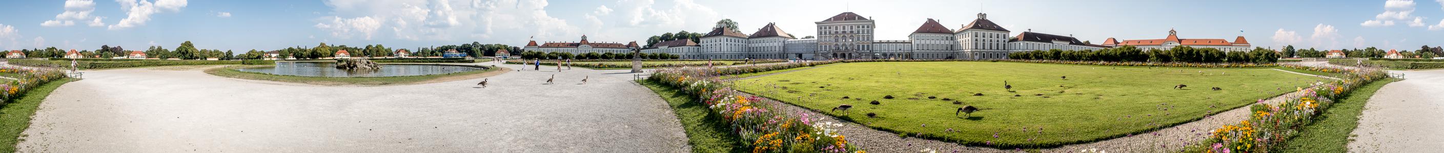 München Schloss Nymphenburg: Schlossrondell