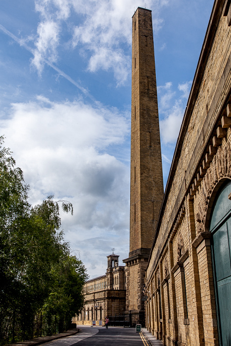 City of Bradford Saltaire: Salts Mill