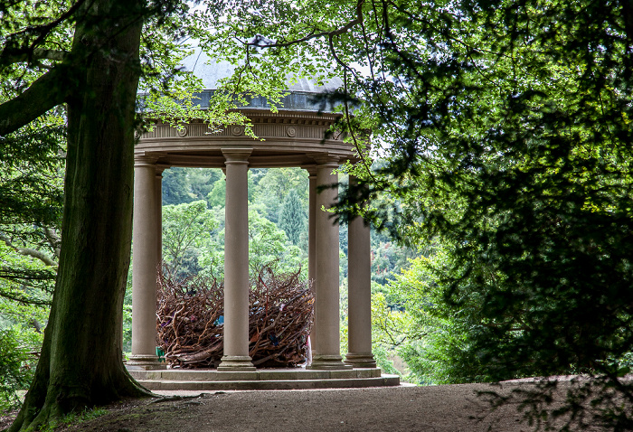 Ripon Studley Royal Water Garden: Temple of Fame