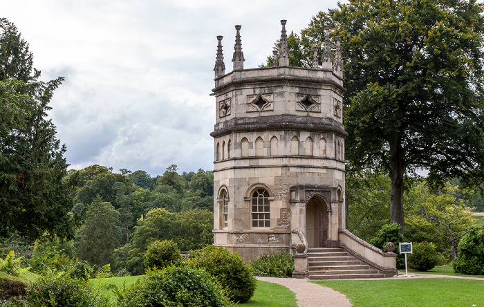 Ripon Studley Royal Water Garden: Octagon Tower