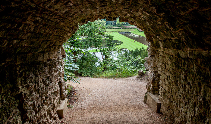 Ripon Studley Royal Water Garden: Serpentine Tunnel