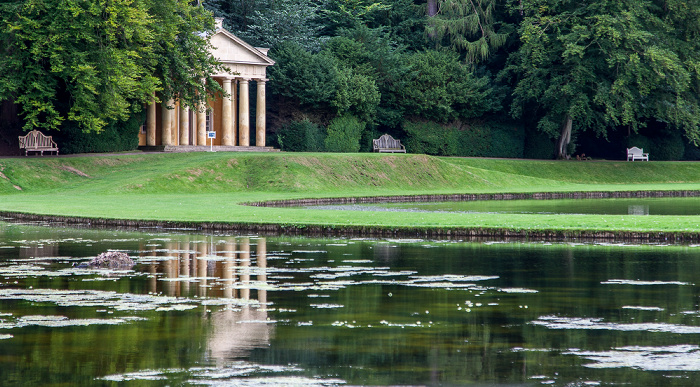Ripon Studley Royal Water Garden: The Ponds und Temple of Piety