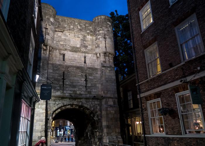 High Petergate, Bootham Bar (York City Walls)