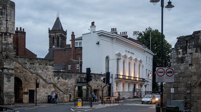 York St Leonard's Place: De Grey Rooms St Wilfrid's Church