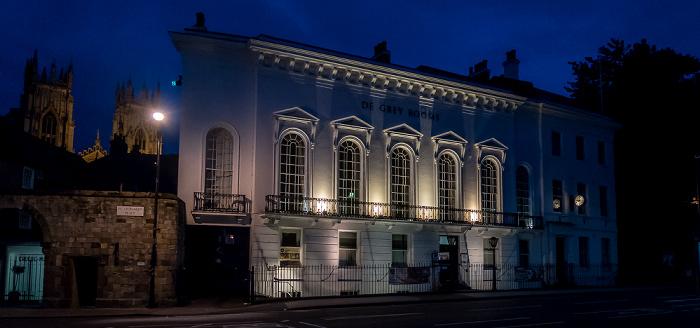 York St Leonard's Place: De Grey Rooms York Minster