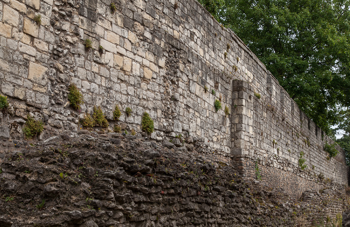 Yorkshire Museum Gardens: York City Walls