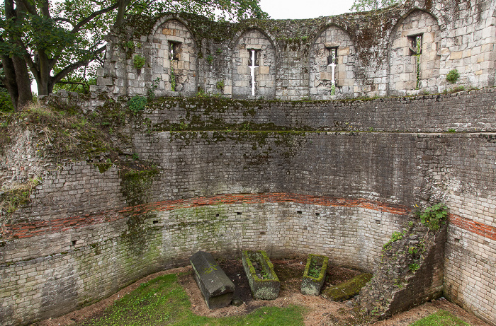 Yorkshire Museum Gardens: Multangular Tower