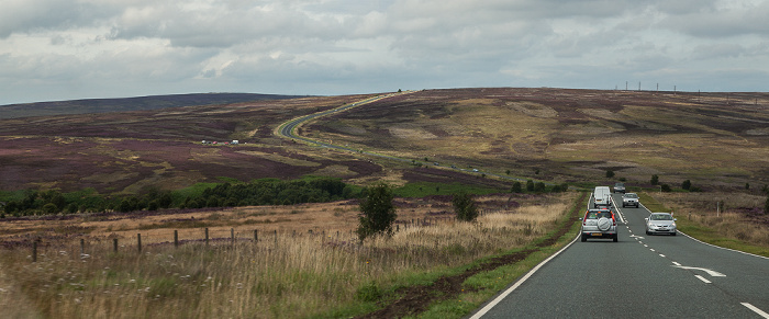 North York Moors National Park Tabular Hills: White Way Heads (A169 Road)