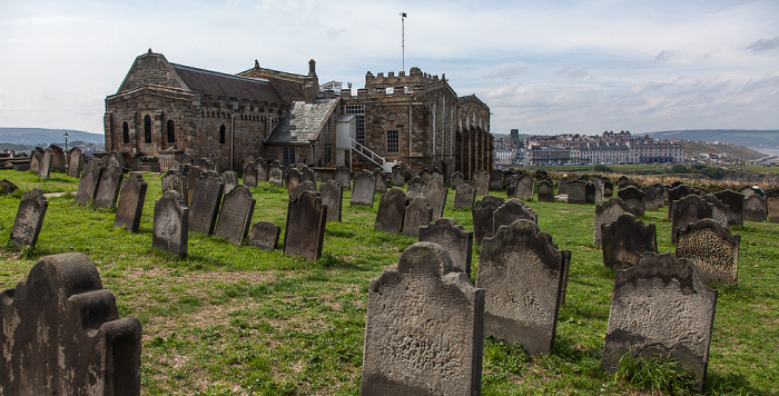 Whitby St Mary's Churchyard, St Mary's Church