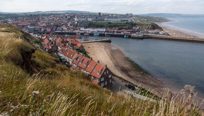 Whitby Lower Harbour (River Esk) Tate Hill Beach Tate Hill Pier