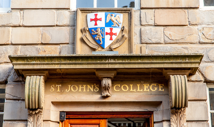 Durham Peninsula: South Bailey - St John's College