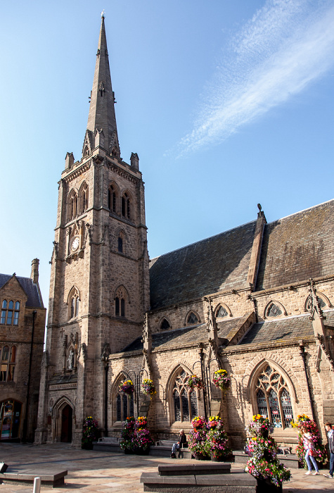 Durham Peninsula: Market Place und St Nicholas' Church