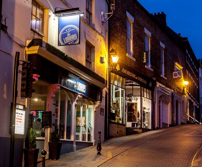 Durham Peninsula: Saddler Street - The Library