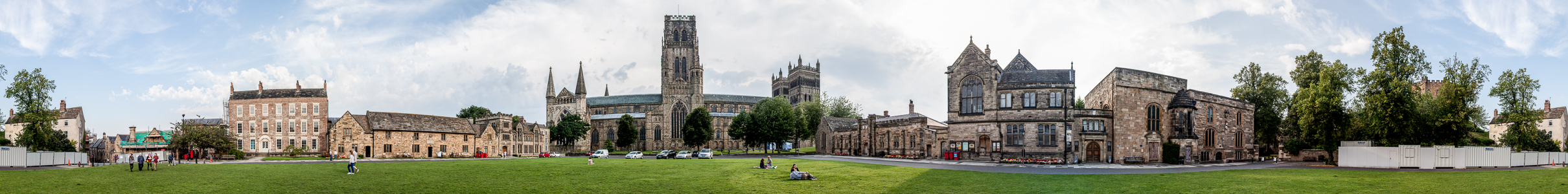 Durham Peninsula mit Durham Cathedral, Palace Green Library und Durham Castle