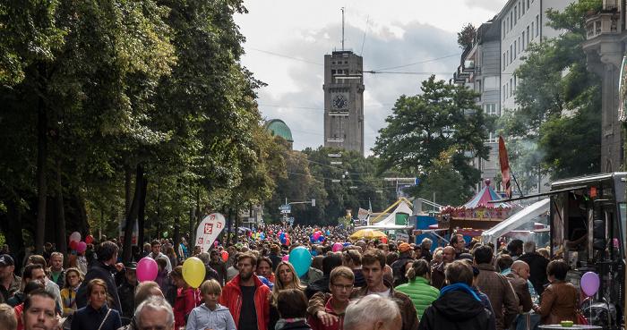 Lehel: Steinsdorfstraße - Isarinselfest München