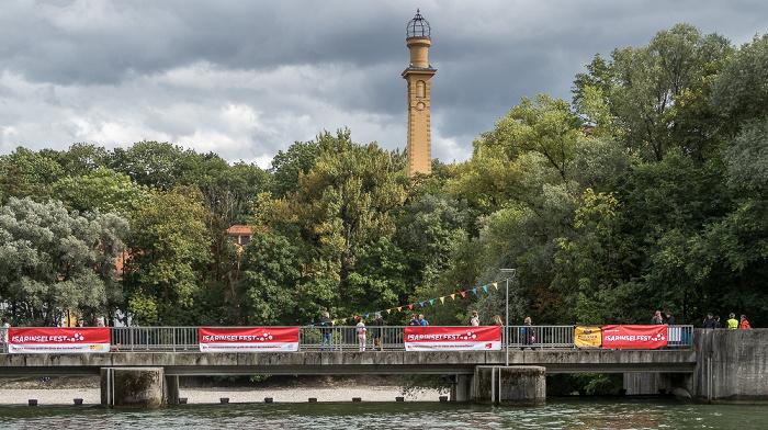Lehel: Isar, Wehrsteg München