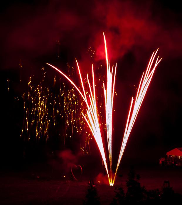 Tatzelwurm Blick vom Feurigen Tatzlwurm: Feuerwerk Feuriger Tatzlwurm