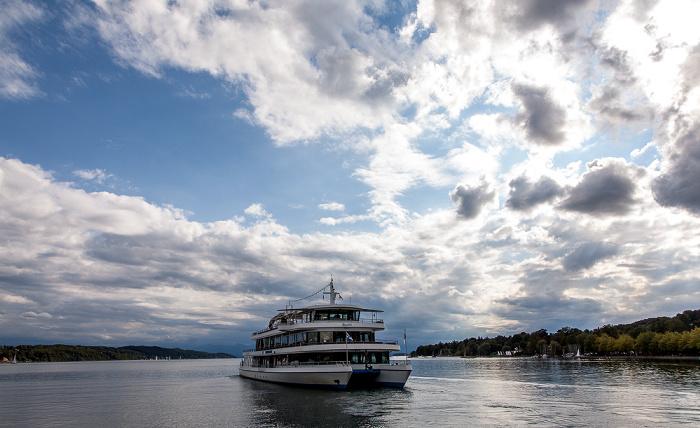 Starnberger See mit der MS Starnberg