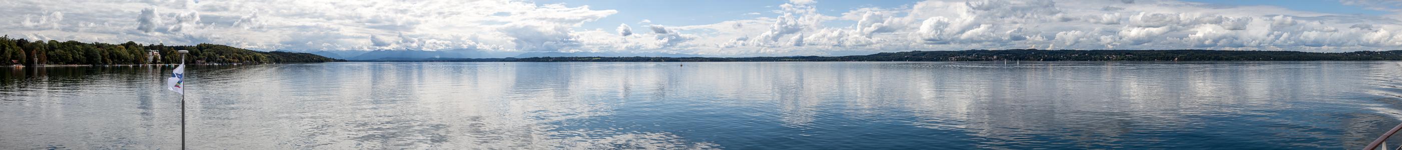 Starnberger See Blick in Richtung Süden
