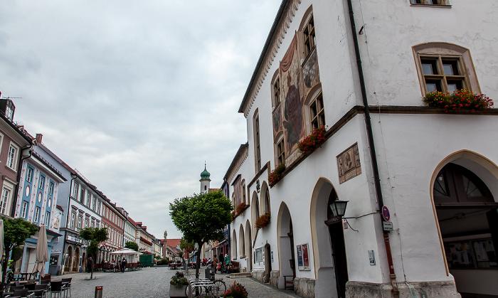 Murnau Untermarkt, Obermarkt, Rathaus
