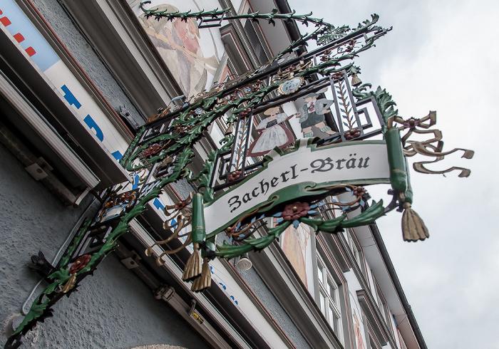 Murnau Untermarkt: Zum Zacherlbräu