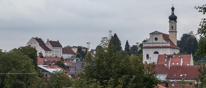 Murnau Katholische Pfarrkirche St. Nikolaus