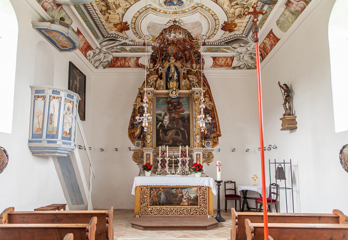 Murnauer Moos Ramsachkirche