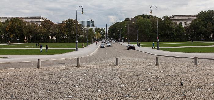 München Maxvorstadt - Königsplatz Hochschule für Musik und Theater München Münchner Haus der Kulturinstitute NS-Dokumentationszentrum Obelisk