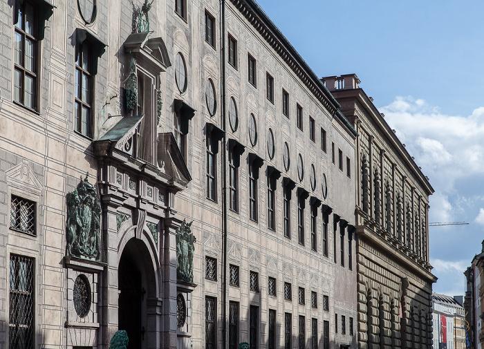 München Altstadt: Residenzstraße - Residenz