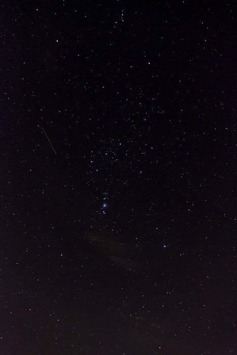 München Nördlicher Sternenhimmel rund um das Sternbild Orion