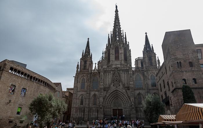 Ciutat Vella: Barri Gòtic - Catedral de la Santa Creu i Santa Eulàlia Barcelona 2015