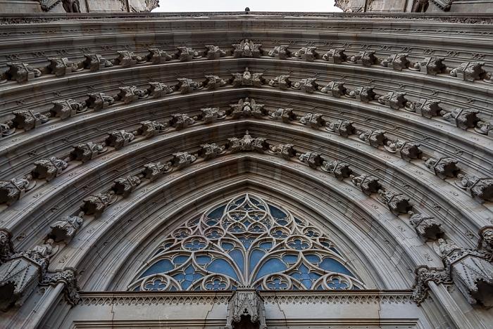 Ciutat Vella: Barri Gòtic - Catedral de la Santa Creu i Santa Eulàlia Barcelona