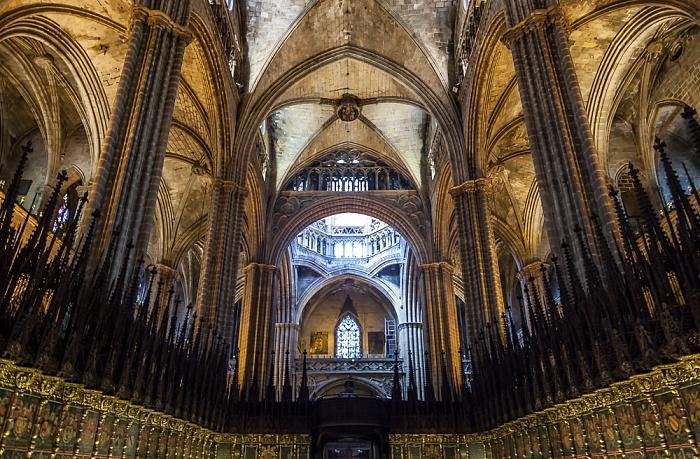 Catedral de la Santa Creu i Santa Eulàlia Barcelona 2015
