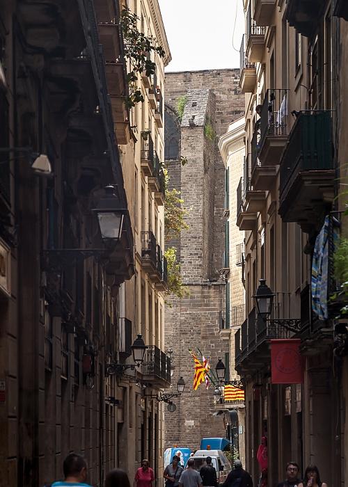 Ciutat Vella: Barri Gòtic - Carrer de la Palla Barcelona