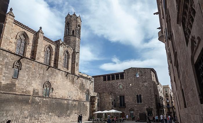 Ciutat Vella: Barri Gòtic - Plaça del Rei: Capella de Santa Àgueda Barcelona