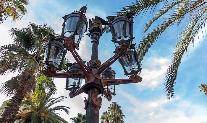 Ciutat Vella: Barri Gòtic - Plaça Reial Barcelona