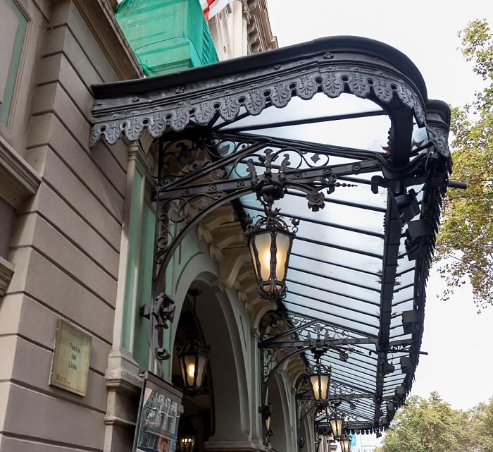 Ciutat Vella: El Raval - La Rambla: Gran Teatre del Liceu Barcelona